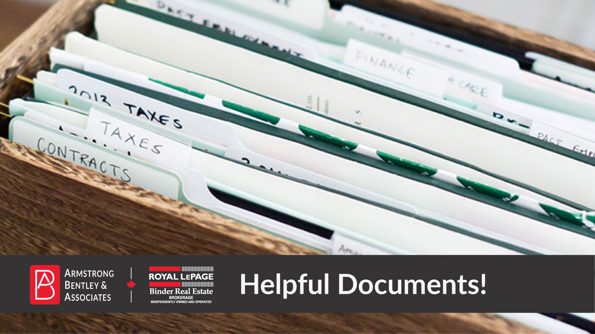 Important Documents when Listing Your Home!